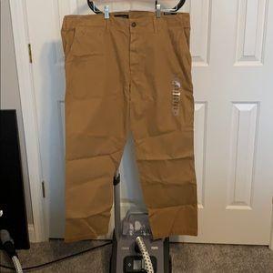 American Eagle Khaki Pants-38x30-Relaxed Straight